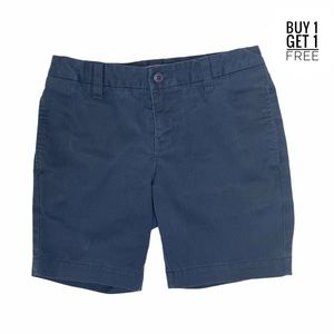 Lands End Girls Navy Blue Shorts Size 8